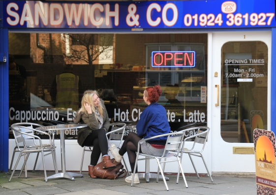 Sandwich & Co on Rishworth Street Wakefield